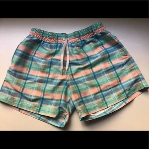 "Chubbies Plaid Swim Trunks 5.5"" Inseam Sz.M"